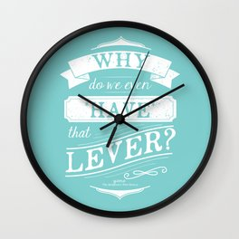 Why do we even have that lever? Wall Clock