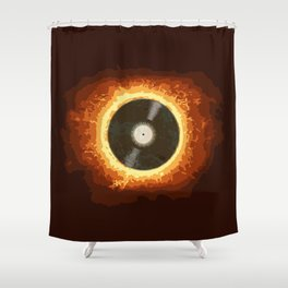 Hot Record Shower Curtain