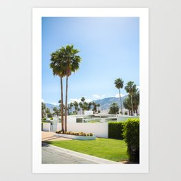 put the palm in palm springs Art Print