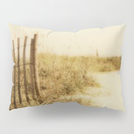 Florida Beaches - Polaroid Pillow Sham