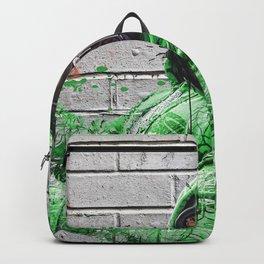 Gas Mask Grafiti Backpack