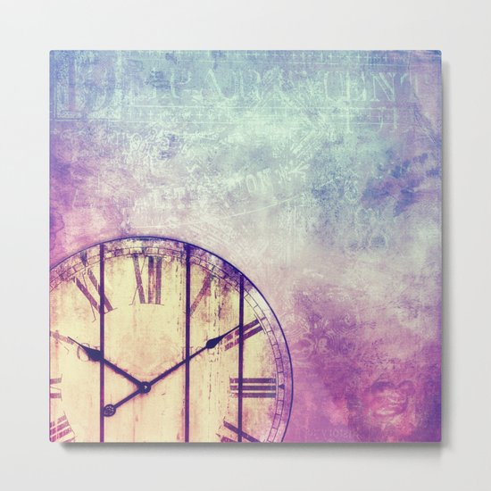 AS TIME GOES BY Metal Print
