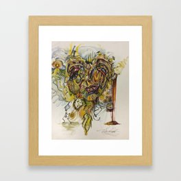 3 am Thoughts Framed Art Print