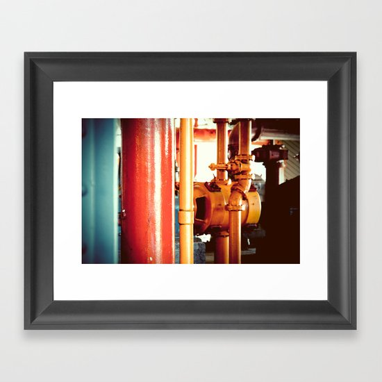 Channel Framed Art Print