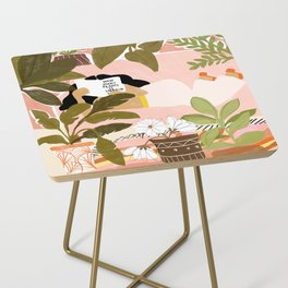 How Many Plants Is Enough Plants? Side Table