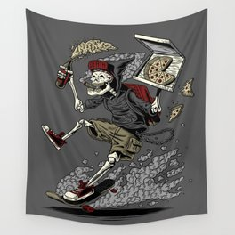 PARTY UNTIL DEATH Wall Tapestry