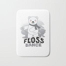 Trends Exercise Movement Flossing Gift Floss Dance  Move Polar Bear Bath Mat
