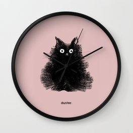 Duster Wall Clock