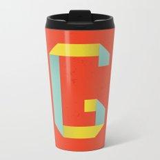 G 001 Metal Travel Mug