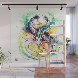 """""""Into the mirror"""" n°5 : The Dragon Wall Mural"""