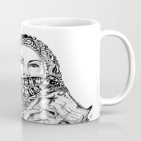 theatre Mugs featuring Babushka No Theatre by Jonathan Habens