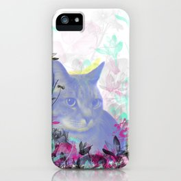 Lazy Kitty iPhone Case