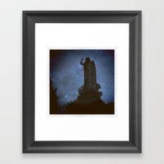 Forest Hills Cemetery Framed Art Print