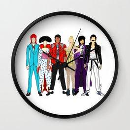 Retro Party 1 Wall Clock