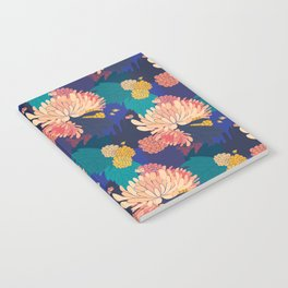 Chrysanthemums and Marigolds Notebook