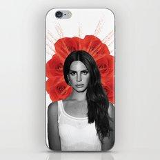 Saint Lana iPhone & iPod Skin