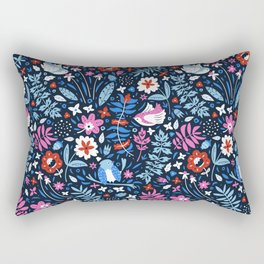 Little Birds Rectangular Pillow