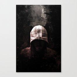 Modern Assassin Hood - Color Canvas Print