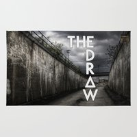 bastille Area & Throw Rugs featuring Bastille - The Draw #2 by Thafrayer