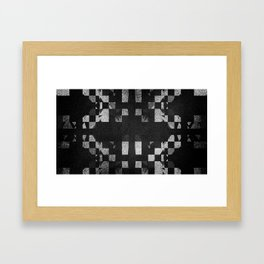 SHAD█WS Framed Art Print