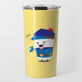 Coffee Cop Travel Mug