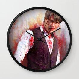 "Mads ""Hannibal"" Mikkelsen  Wall Clock"