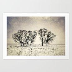 Dark Winter Days Art Print