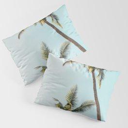 Palm Tree Beach Summer Pillow Sham