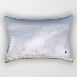 Old Faithful Fly By Rectangular Pillow