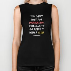 Go After Inspiration With A Club Biker Tank