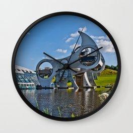 Falkirk Wheel Wall Clock