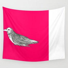 Feathered, not stirred Wall Tapestry