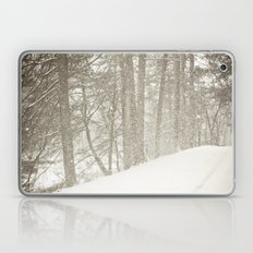 Stopping by a Snowy Woods Laptop & iPad Skin