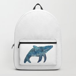 Blue Whale Backpack