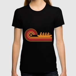 Retro Style White Water Rafting Vintage T-shirt