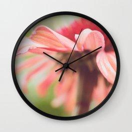 Dancing Coneflower Wall Clock