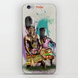 "African+British ""Tribal Celebration"" iPhone Skin"