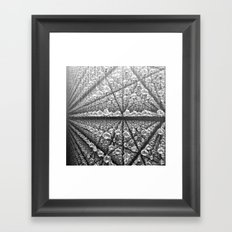 The amazing connection Framed Art Print
