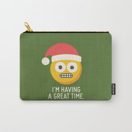 White Knuckle Christmas Carry-All Pouch
