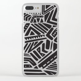 Kings Clear iPhone Case