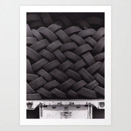 Tires Art Print