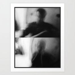 Dark Blur Art Print