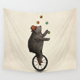 The Juggler (color option) Wall Tapestry