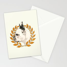 French Bulldog - @french_alice dog Stationery Cards