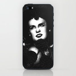 The Black Dahlia iPhone Skin