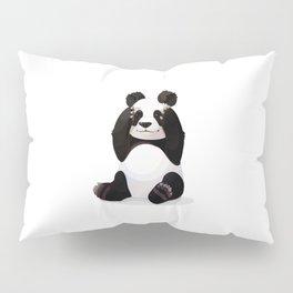 Cute big panda bear Pillow Sham