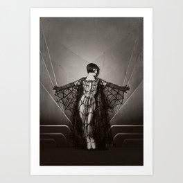Vicky Butterfly Art Print