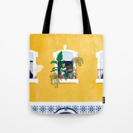 Lisbon girl Tote Bag