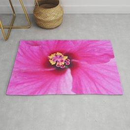 Tropia Pink Hibiscus Rug