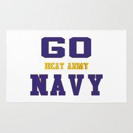 GO NAVY- Beat Army Rug